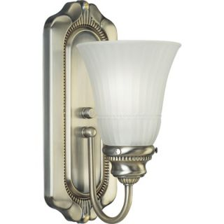 Progress Lighting Huntington Colonial Silver Wall Sconce   P3007