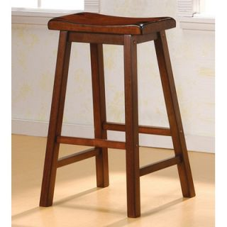 Wildon Home ® Aloha 29 Bar Stool in Dark Walnut