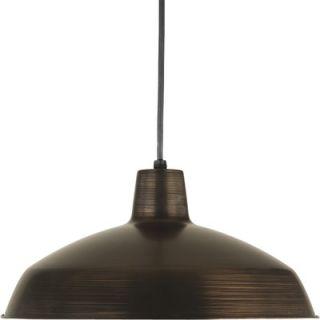 Progress Lighting 1 Light Cord Hang Pendant   PROP509474
