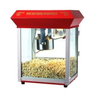 Great Northern Popcorn Pickford Bar Style Popcorn Machine in Red