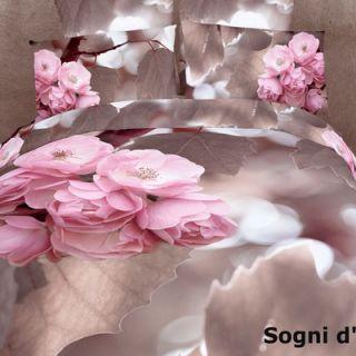 Dolce Mela Sogni dOro 6 Piece Full / Queen Duvet Cover Set