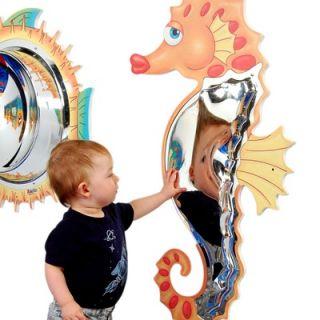 Anatex Seahorse Mirror Wall Panel