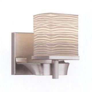 Philips Forecast Lighting Isobar 1 Light Vanity Light in Satin Nickel