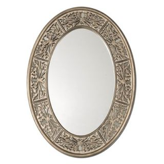 Uttermost Francesco Oval Small Mirror in Antiqued Champagne