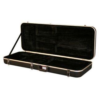 Gator Cases Molded Extra Long Electric Guitar Case   GC ELEC XL BLK