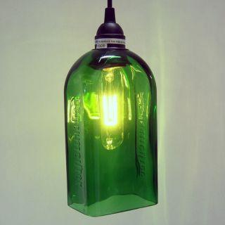 Bottlehood 1 Light Pendant   L P 175GG SNC