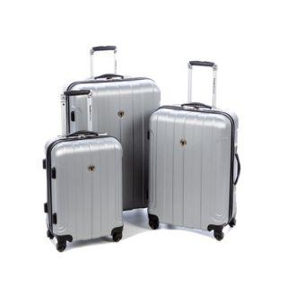 Travelers Choice Cambridge 3 Piece Hardshell Spinner Luggage Set