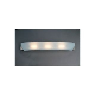 PLC Lighting Cirrus Wall Sconce in Polished Chrome   4444 Acid