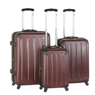 Heys USA Pulse Lite 3 Piece Spinner Luggage Set