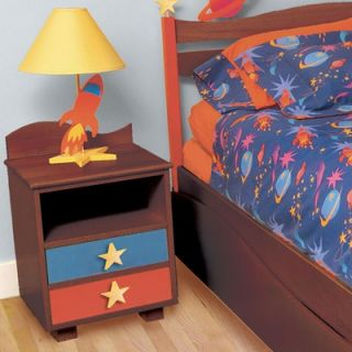 Room Magic Natural 2 Drawer Nightstand