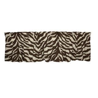 . 180 Thread count. Window treatment. Brown / Tan zebra print $30.99