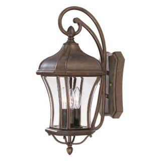 Savoy House Realto Outdoor Wall Lantern in Walnut Patina   5 3801