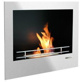 BlackandStone VioFlame Built in Wall Mount Fireplace   VFR210BRO