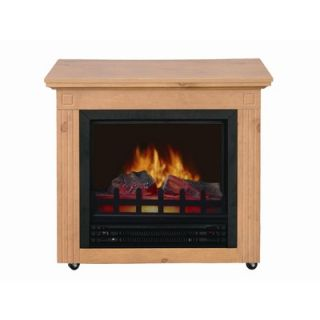 World Marketing Cambria Electric Mobile Fireplace