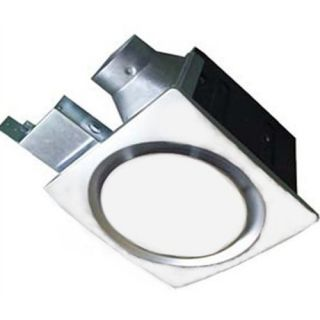 Energy Star Qualified 110 CFM Light / Nightlight Super Quiet Bath Fan