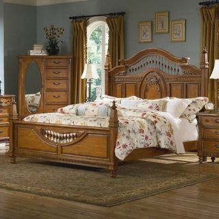 kathy ireland Home by Vaughan Southern Heritage Spindle Panel Bedroom