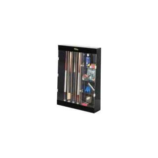 Cuestix Display Cases Ten Cue Wall Mount Display Case with Accessory