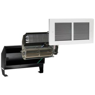 120V Register Plus Fan Forced Wall Heater in White