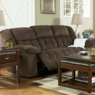 Signature design by ashley rudy microfiber chaise lounge for Ashley microfiber chaise lounge