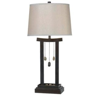 Kenroy Home Chimes Table Lamp in Copper Bronze   32124CBRZ