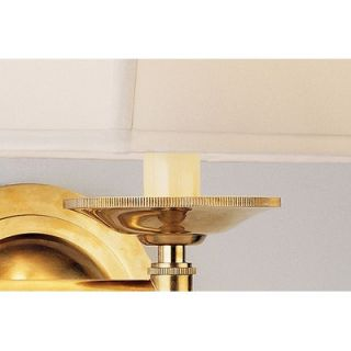 Robert Abbey Alvin Swing Arm Wall Lamp in Antique Natural Brass