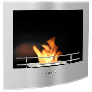 BlackandStone VioFlame Built in Wall Mount Fireplace   VFR210BCO