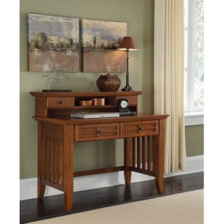 Home Styles Arts and Crafts 42 W Writing Desk and Hutch   88 5180