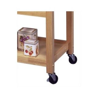 Home Styles Kitchen Cart with Stainless Steel Top   5217 95