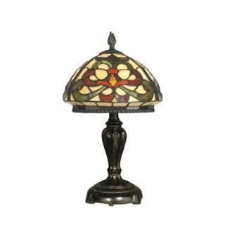 Dale Tiffany One Light Table Lamp in Fieldstone