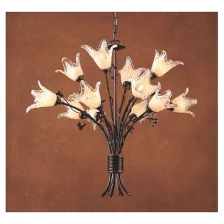 Elk Lighting Fioritura 12 Light Chandelier   7959/8+4