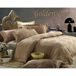 Dolce Mela Dolce Mela Golden Age Duvet Cover Set