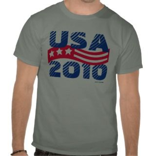 United States of America USA 2010 Shirts