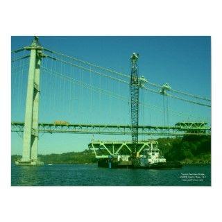 Tacoma Narrows Bridge Construction 2006 2007 Print
