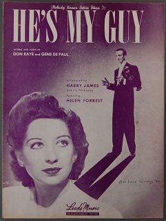 Hes My Guy Raye de Paul Harry James Helen Forrest