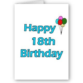 Cute Happy 18th Birthday Design. All of our images are available on