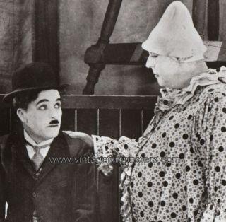 The Circus OrigL 1969R Still Charlie Chaplin Clown