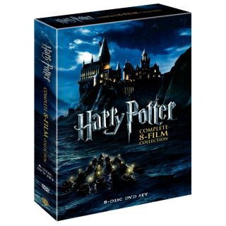 Harry Potter The Complete 8 Film Collection DVD 8 Disc Set Brand New