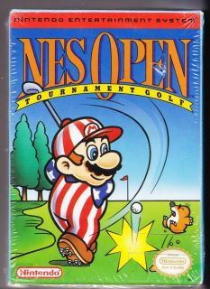 Nintendo NES Boxed Open Tournament Golf SEALED USA