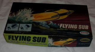 Vintage 1968 Aurora Voyage to The Bottom of The Sea Flying Sub Model