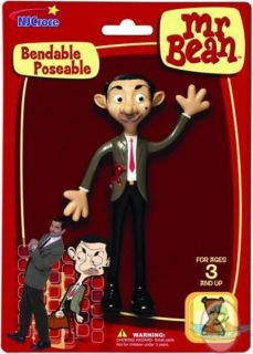 Mr. Bean Bendable Poseable Action Figure Mr Mister TV Series Comedian