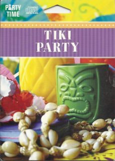 Hawaiian Luau Aloha Tiki Party Mahalo CD Island Music