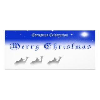 25 X9.25 Three Wise Men Merry Christmas Party In Custom Invitations