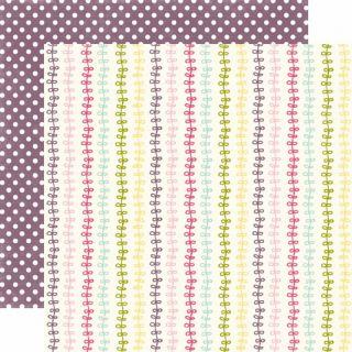 Echo Park SPRINGTIME 12x12 Scrapbook Paper   GROWING VINES (ST11005