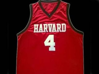 Jeremy Lin Harvard Jersey Chinese American Red New Any Size