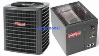 NEW GOODMAN 13 SEER 3 TON AC CENTRAL AIR CONDITIONER R410A & Matching