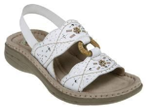 Womens shoes   SANDALS   white   EARTH SPIRIT   size 10   New