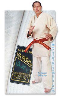 Small White Unbleached Single Weave Hayashi Judo Gi Size 00