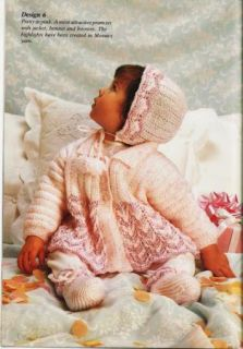 Hayfield #7113 ~ 13 BABY Knitting & Crochet Patterns ~Cardigan Sweater