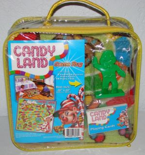 Hasbro Candyland 40 x 40 Game Floor Rug Complete