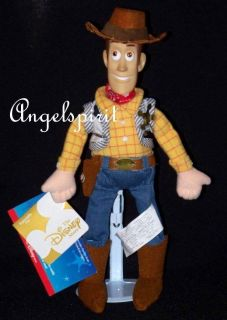 Disney Pixar TOY STORY WOODY 11 (TALKING) Plush Slammer beanbag cloth